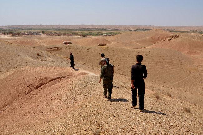 Jászberényi Aknamező (Aknamező, Jászberényi, kurdisztáni ISIS frontvonal)