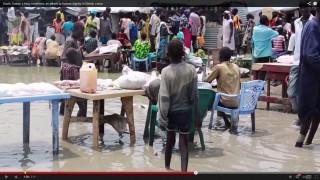 Menekülttábor Dél-Szudánban (menekülttábor, dél-szudán)