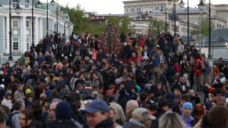Moszkvai tüntetők (moszkva, tüntetés)