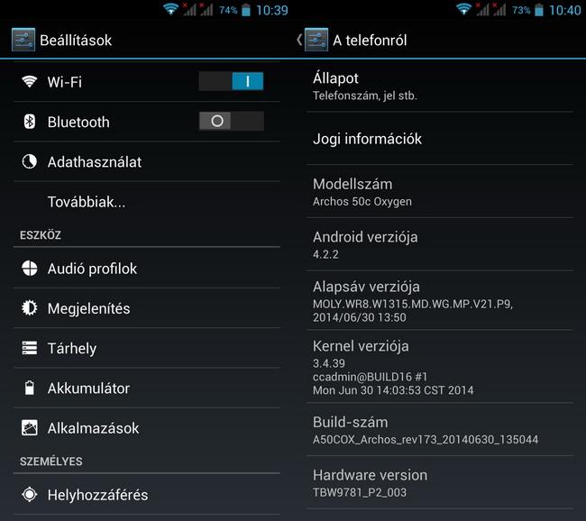 mp-a14 (mobilport, teszt, archos, andorid, olcsó, okostelefon)