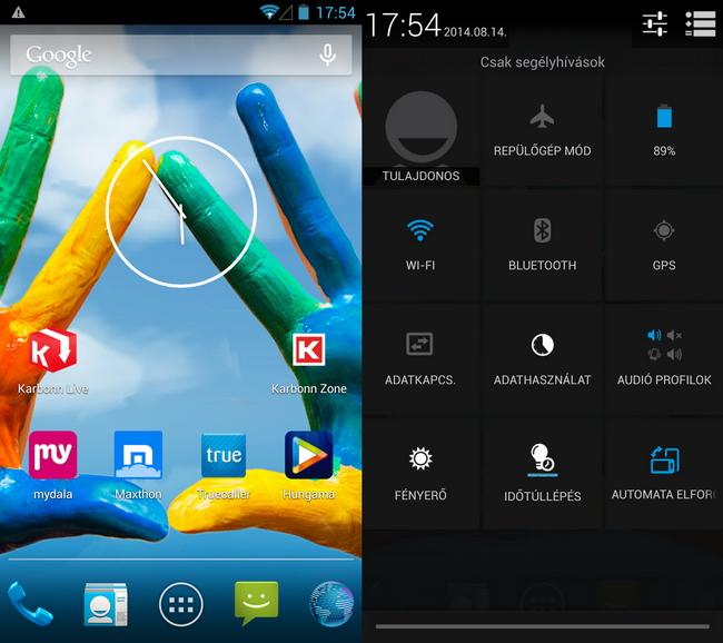 mp-kar10 (mobilport, teszt, karbonn, android, full hd, india, okostelefon)