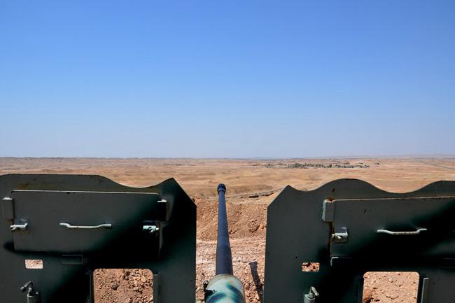 pesmerga harcosok (pesmerga harcosok, kurd, iraki front)