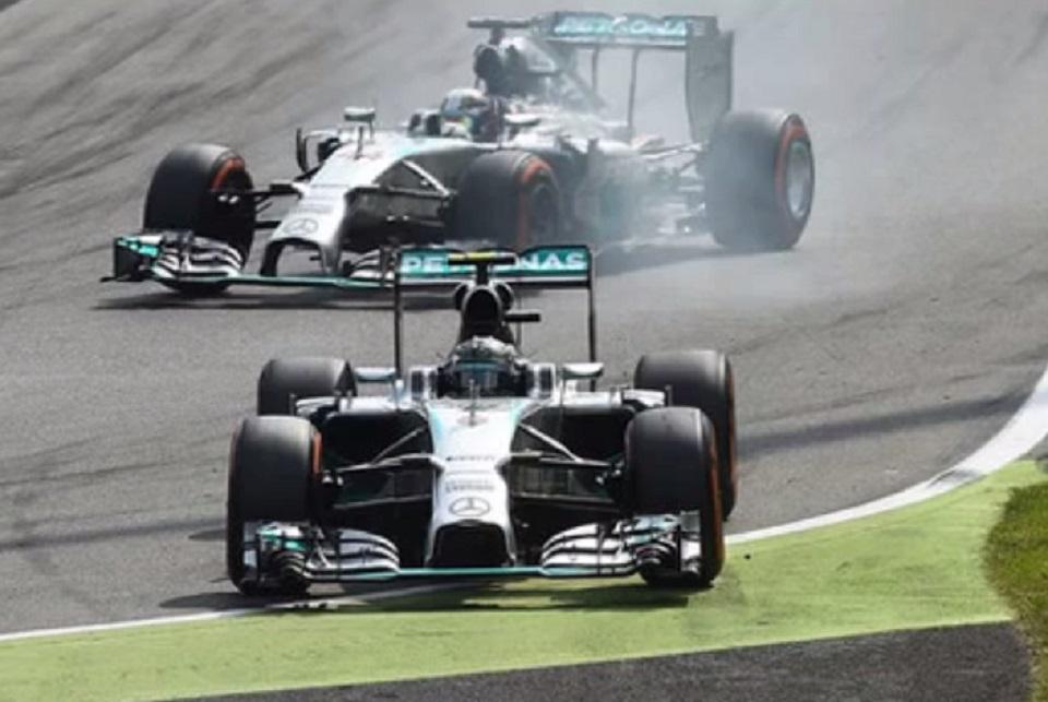 Nico Rosberg hiba Monzában (nico rosberg, lewis hamilton, olasz nagydíj, )