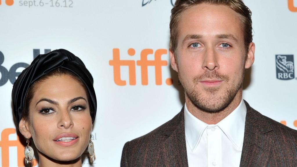 Ryan Gosling és Eva Mendes (eva mendes, ryan gosling, )