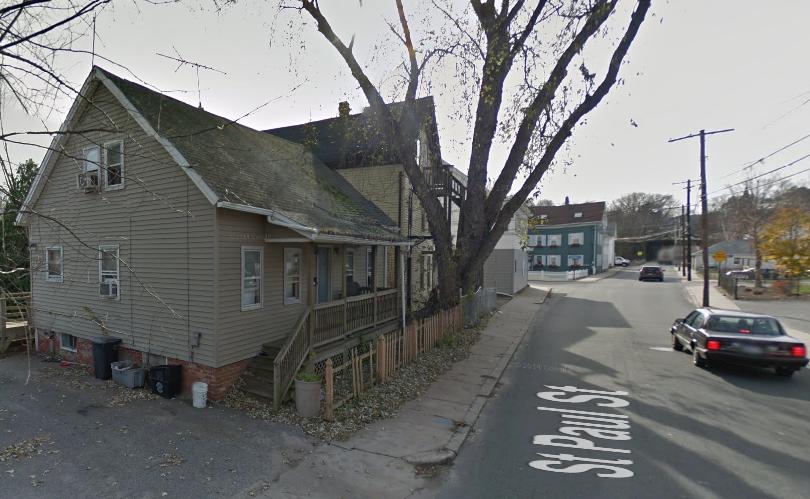 St Paul Street, Blackstone, MA (ház, googe streetview, usa, )