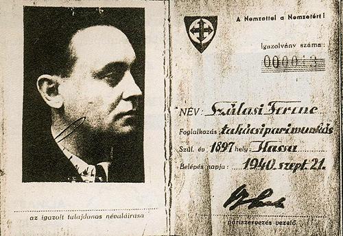 Szálasi Ferenc pártkönyve (szálasi ferenc, szálasi)