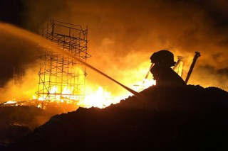 Tűz a nottinghami egyetemen (tűz)