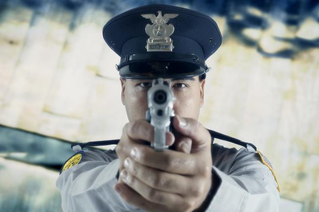 fegyver (fegyver, pisztoly, lőszer, támadás, tömeggyilkosság, lövés, rendőr)