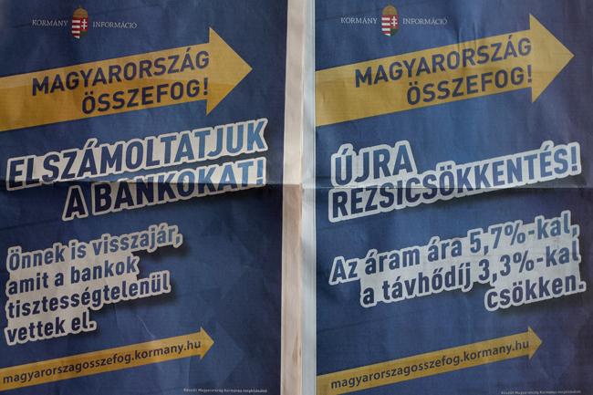 kormány hírdetés (kormány hírdetés, információ, bankok, Magyar Nemzet)