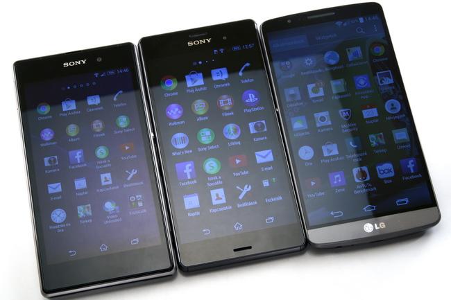 mp-z13 (mobilport, teszt, mobil, sony, xperia, csúcsmobil, android, vízálló)