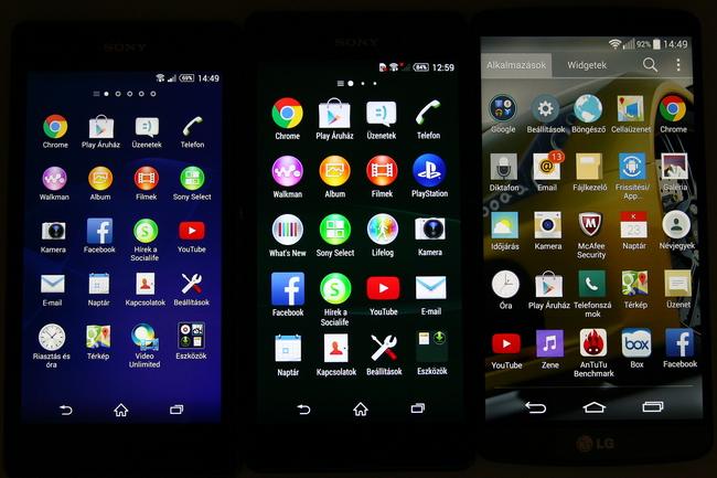 mp-z14 (mobilport, teszt, mobil, sony, xperia, csúcsmobil, android, vízálló)