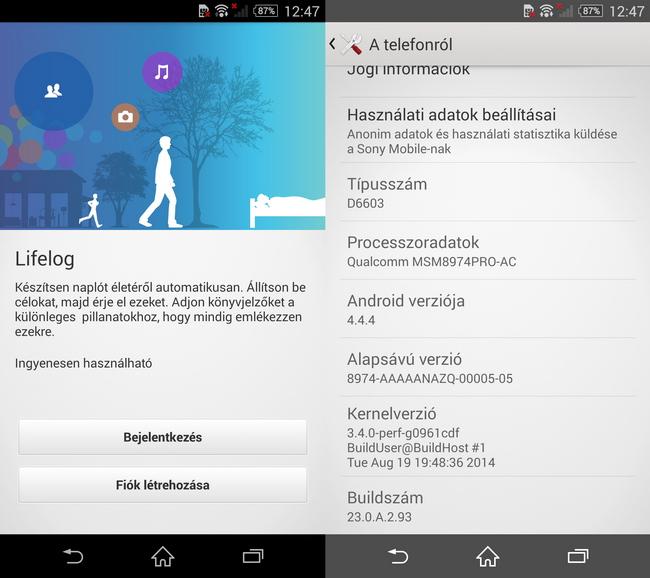 mp-z17 (mobilport, teszt, mobil, sony, xperia, csúcsmobil, android, vízálló)