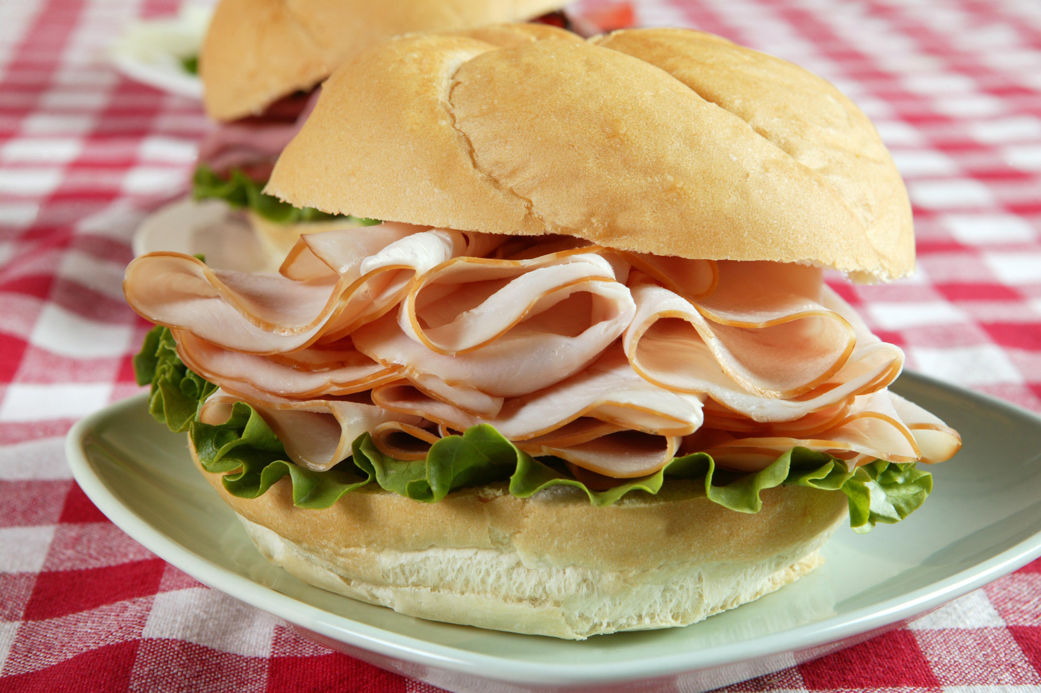 pulykás szendvics (szendvics, )