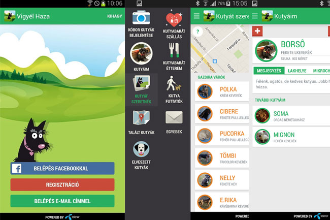 vigyel-haza-app-01 (kutya, android, alkalmazás, app, applikáció, okostelefon, mobiltelefon, tablet, mobilport, google play, kóbor, gazdátlan, állat, menhely, alapítvány, telenor, )