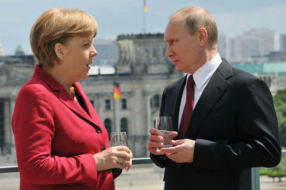 Angela Merkel (Angela Merkel, Putyin)