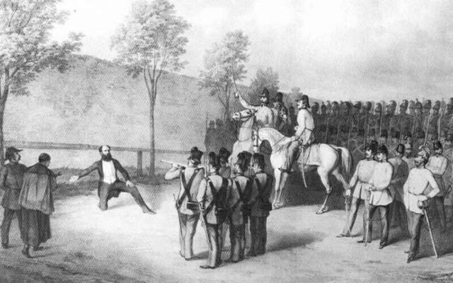 Batthyány kivégzése (battyány lajos)