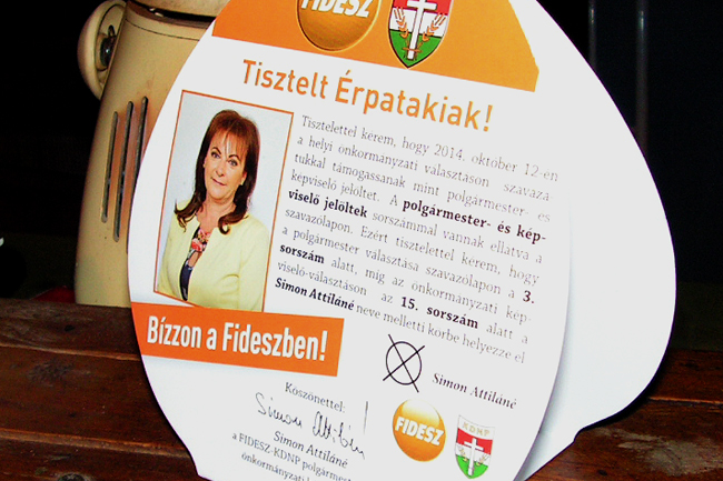 Hazi áldás (Hazi áldás, fidesz, önkormányzati választások 2014, )