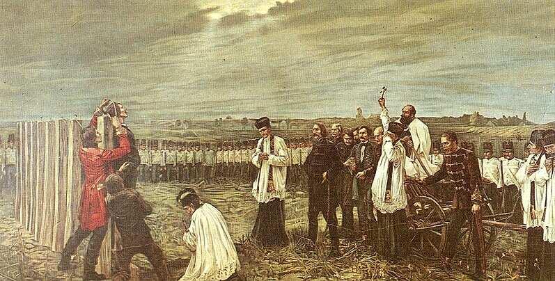 Kivégzés Aradon (aradi 13)