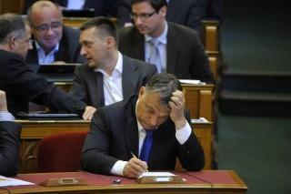Orbán Viktor a Parlamentben (orbán viktor)