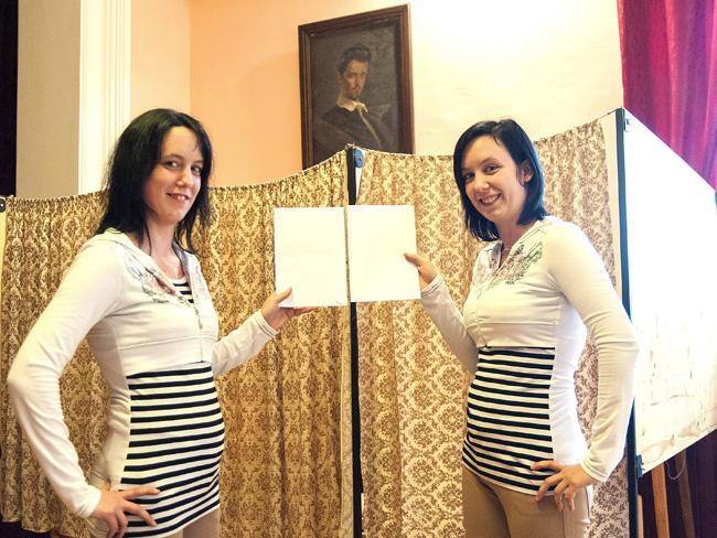 ikrek szavaznak (ikrek szavaznak, önkormányzat választás 2014, )