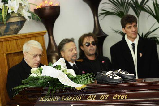 komár lászló temetése (komár lászló)