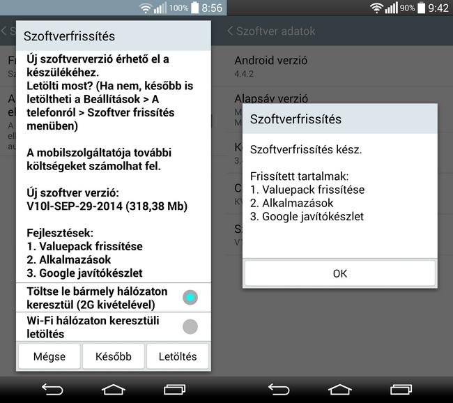 mp-g3f1 (mobilport, lg, lg g3, android, kitkat, frissítés, szoftver, okostelefon)
