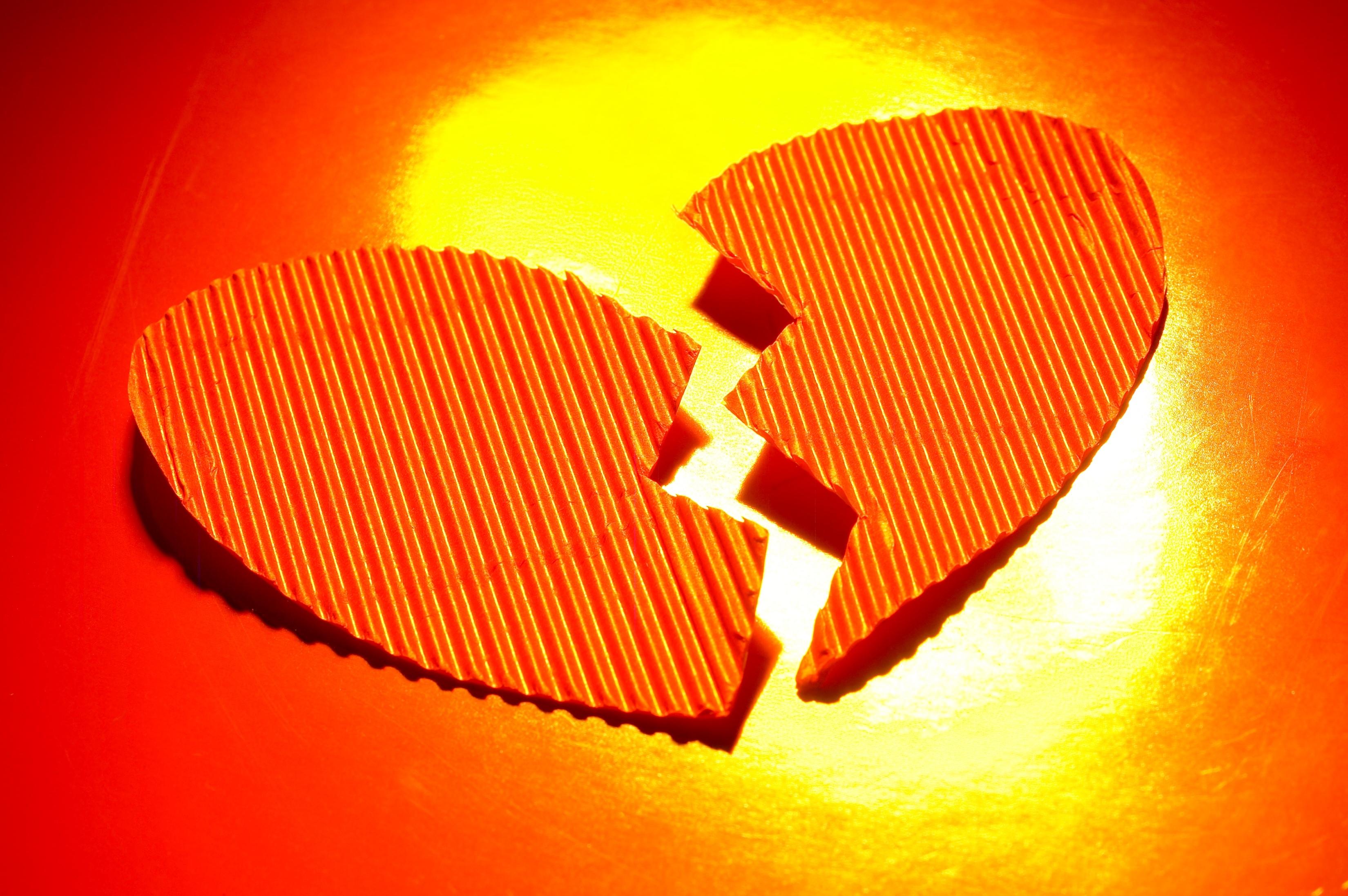 összetört szív (összetört szív)