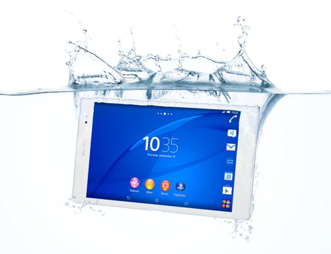 tn-xpz3 (technet, sony, xperia, tablet, vízálló, android)