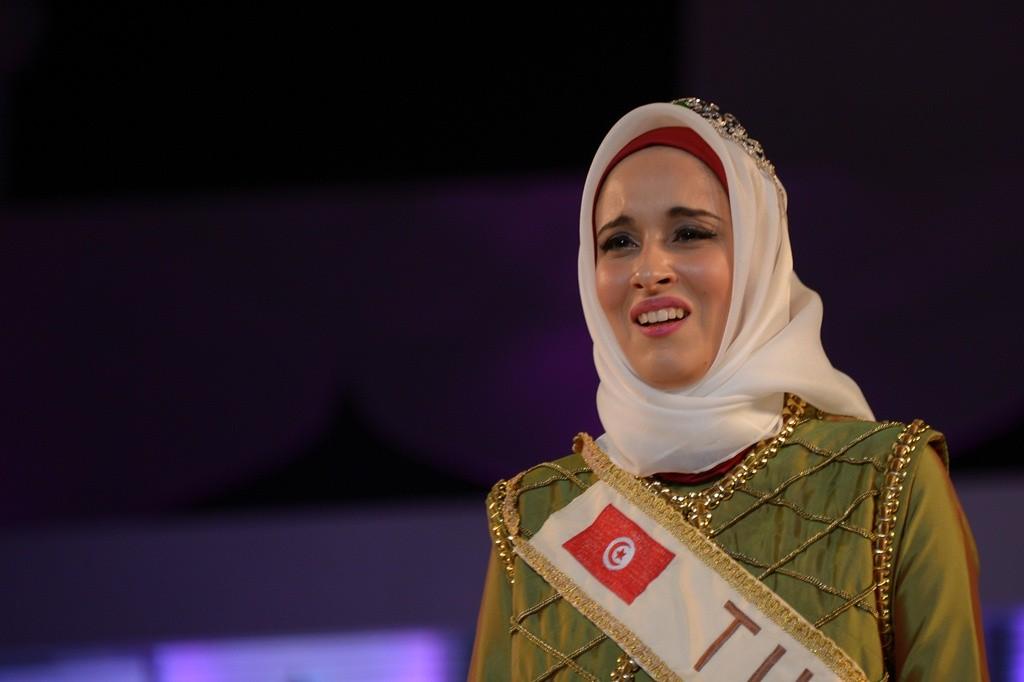 Fatma Ben Guefrache 1 (szépségkirálynő, muszlim, )