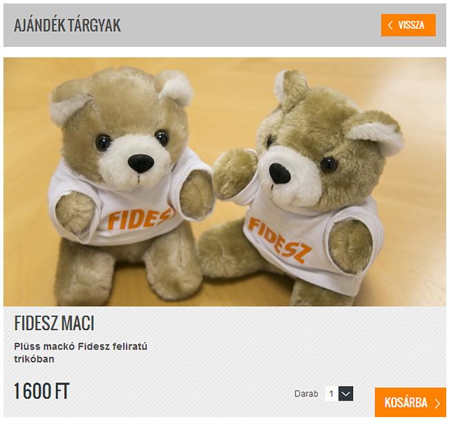 Fidesz webshop (Fidesz webshop)