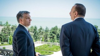 Ilham Aliyev és Orbán Viktor Bakuban (azerbajdzsán, ilham aliyev, orbán viktor, )