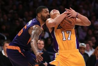 Marcus Morris és Jeremy Lin (Marcus Morris, Phoenix Suns, Jeremy Lin, los angeles lakers, )