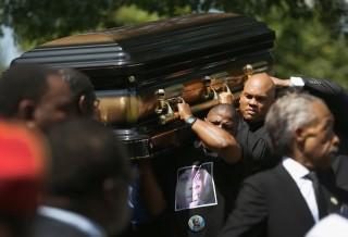 Michael Brown temetése (michael brown, ferguson, temetés)