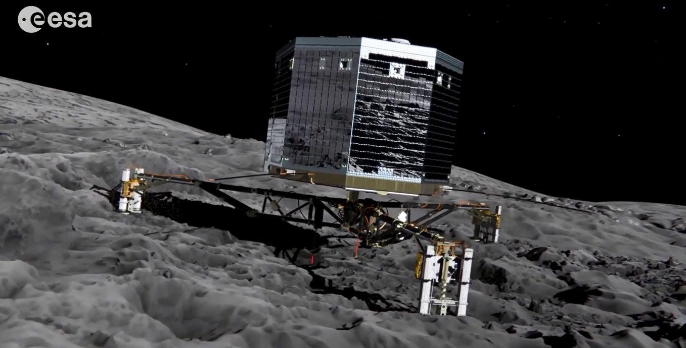 Philae az üstökösön (philae)