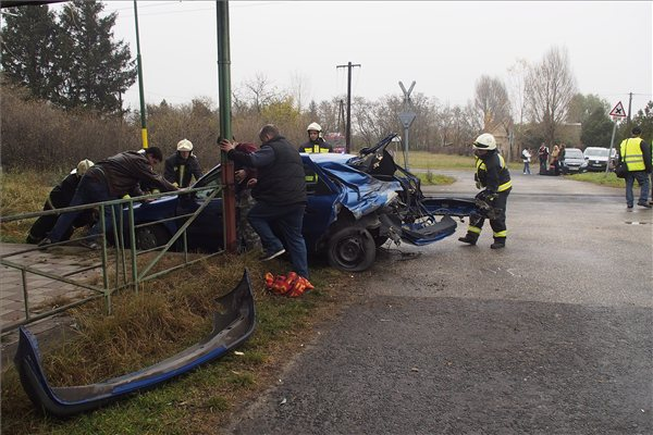 Vasúti baleset szegednél (baleset, )