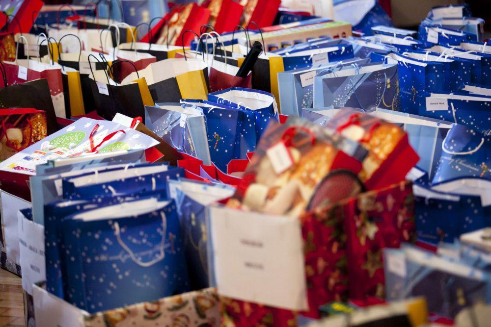 ajándék (karácsony, ajándék, tasak, )