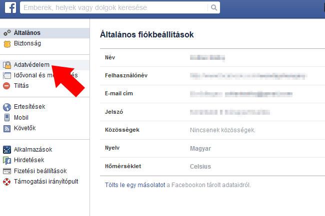 fb-biztonsag-04 (technet, hir24, facebook, személyiségi jogok, közösségi média, kormány, nav, tek, rendőrség, magánügy, magánélet, adatok, adatkérés, tipp, tippek, )