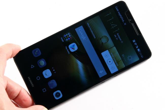mp-hm01 (mobilport, teszt, huawei, ascend, phablet, kínai, okostelefon)