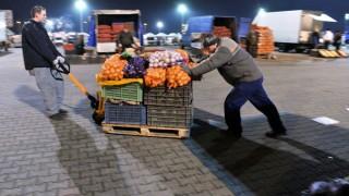 nagybani piac (nagybani, nagybanmi piac, munkás, zöldség, )