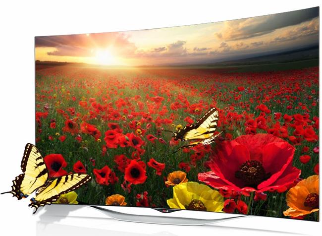 tn-lgoled (technet, lg, tv, tévé, televízió, ívelt, hajlított, OLED, smart, okostévé, webOS)
