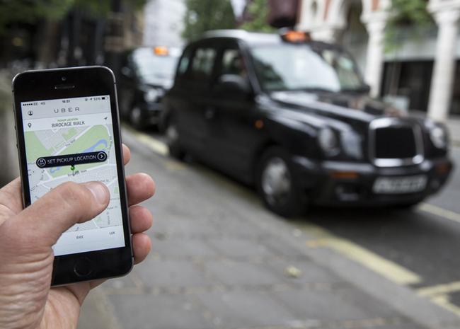 tn-uber (technet, okostelefon, uber, taxi, közlekedés, utazás)