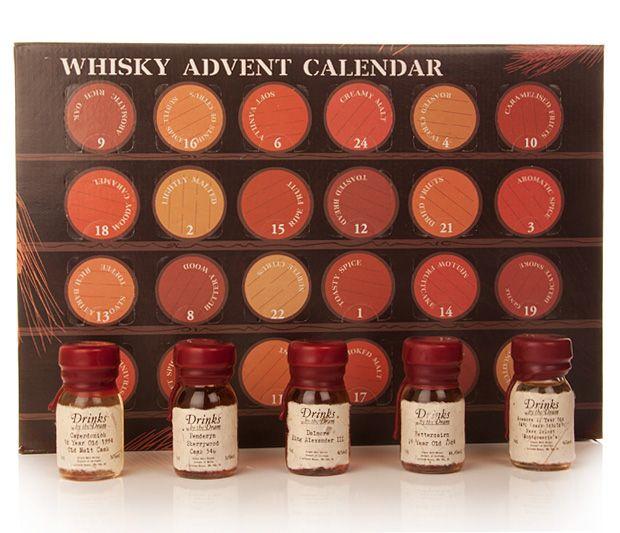 whisky advent (whisky, adventi naptár)