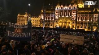 ATV tüntetés (ATV, tüntetés)