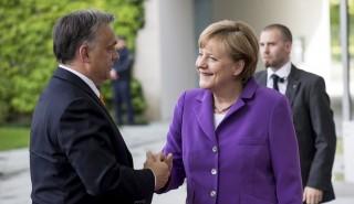 Angel Merkel és Orbán Viktor (orbán viktor, angela merkel)
