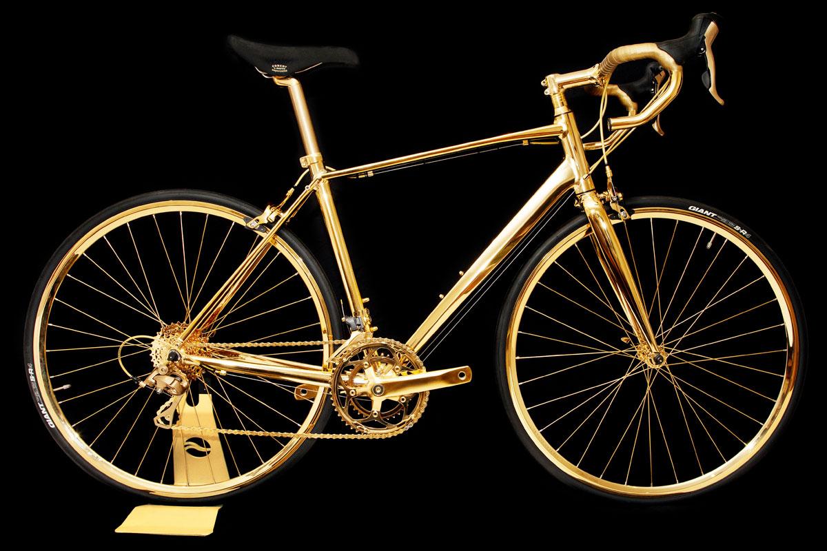 Aranybicó (kerékpár, arany, )