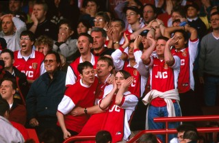 Arsenal szurkolók (arsenal szurkolók,)