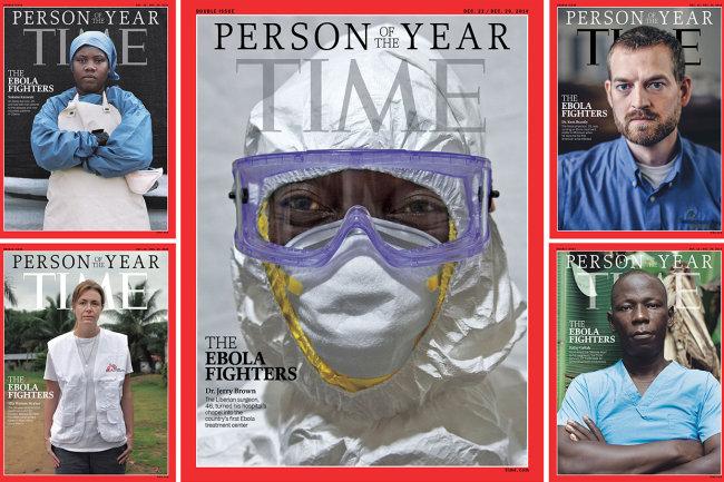 Az év embere 2014 (az év embere, ebola)