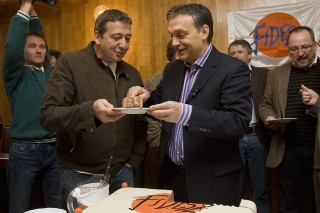 Bayer Zsolt Orbán Viktor (Bayer Zsolt, Orbán Viktor, Fidesz)