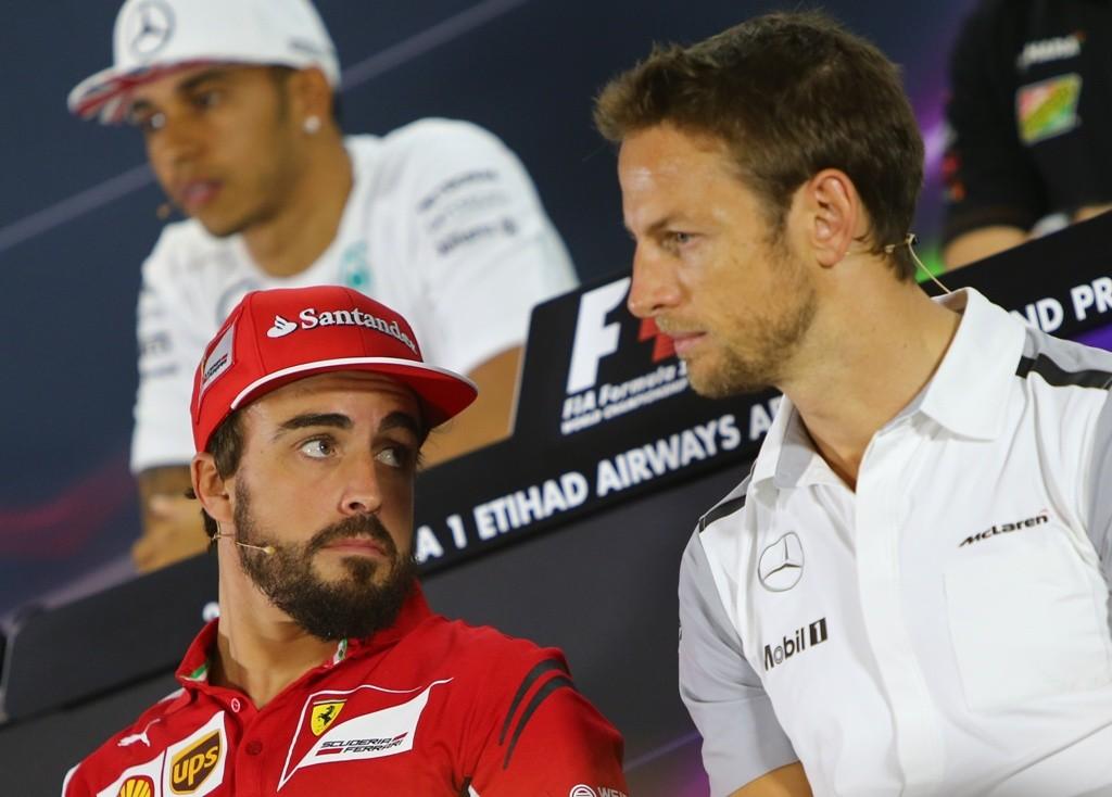Fernando Alonso, Jenson Button (fernando alonso, jenson button, )