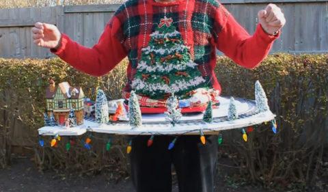 Karácsonyi pulcsi (ronda pulcsi, )